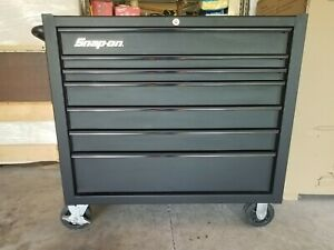 Snap On 40 7 Drawer Tool Box Cabinet Excellent Condition Snapon Kra4107