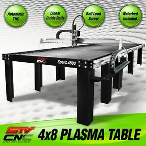 Stv Cnc 4x8 Plasma Cutting Table Sparx 4800 Made In The Usa