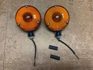 Pair Tractor Warning lamp Flasher Lights Replace Deere Ch12713 lva800967
