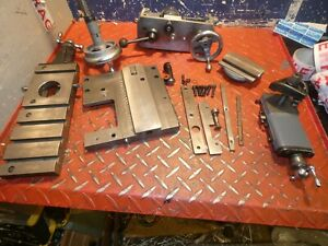 Myford Super 7 Power Cross Slide Complete Set Up With Leadscrew Apron Lathe