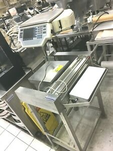 Scale And Print And Seal Wrap Meat Food Hobart
