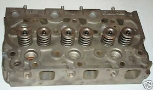 New Kubota L295 Tractor Cylinder Head Complete W Valves
