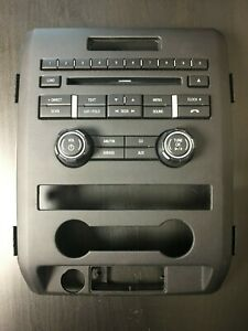 Used Ford F150 F 150 Radio Control Panel Cl3t 18a802 Ha Fits 2012 14 Free Ship
