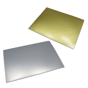 A4 Pet Diy Matte Gold Silver Printable Self Adhesive Stickers Blank Labels Paper
