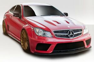 W204 2dr Coupe Black Series Look Body Kit 13 Piece Fits Mercedes C63 12 14