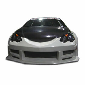 Gt300 Wide Body Front Bumper Cover 1 Piece Fits Acura Rsx 02 04 Duraflex