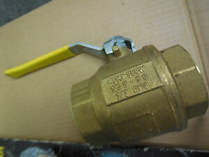 Grinnell 171n Threaded Ball Valve With Handle 2 New