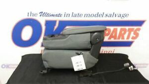 17 Dodge Ram 1500 Front Center Console Jump Seat Gray Cloth