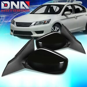 For 2013 2017 Honda Accord 2dr Pair Oe Style Power Side Door Mirror Replacement
