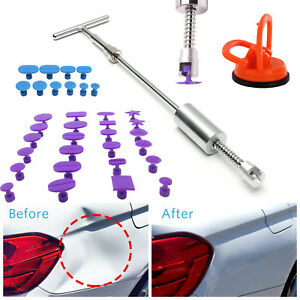 Puller Repair Kit Slide Car Auto Body Paintless Dent Removal Hammer B35 Tool Us