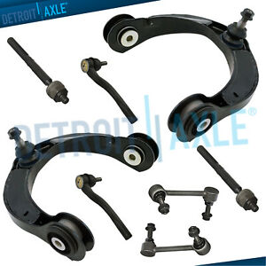 For 2011 2015 Durango Grand Cherokee Front Upper Control Arms Inner Outer Tierod