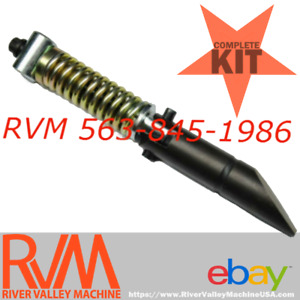 Rvm Universal Quick attach Mount Latch Pin Coupler Assembly Kit For Skid steers