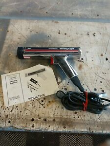 Vintage Sears Craftsman Timing Light Gun Inductive Chrome Model 161 213400