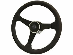 1969 1973 Chevy Chevelle S6 Suede Steering Wheel Deluxe Kit Solid Spoke