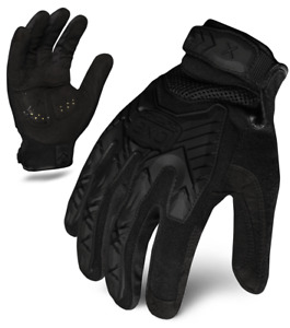 Ironclad Exot iblk Tactical Impact Protection Gloves Black Select Size