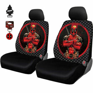 New Marvel Comic Deadpool Car Truck Suv Seat Cover Keychain And Gift For Subaru