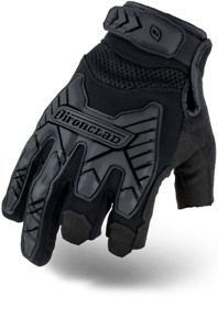 Ironclad Iext friblk Command Tactical Framer Impact Black Gloves Select Size