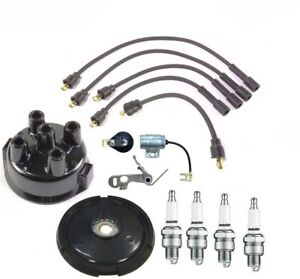 Complete Tune Up Kit Massey Ferguson Tractor 4 Cyl Gas Delco Distributor