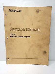 Caterpillar Cat 3208 Diesel Truck Engine Shop Service Repair Manual 2z1 up
