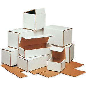Packaging Supplies 200 ect 32 b White Corrugated Mailers Usa Bundle Of 50