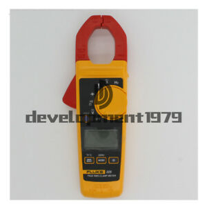 New Fluke 325 True rms Clamp Meter 40 00 A 400 0 A With Soft Carrying Case