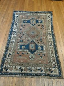 3 3 X 5 2 Antique Caucasian Rug