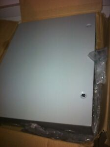 It av telecom low Voltage Electrical Cabinet 24 X 36 X 10 With Side Louvers