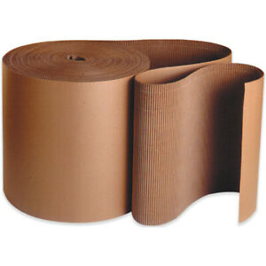 Packaging Supplies A Flute Kraft Singleface Corrugated Roll Usa 1 Roll