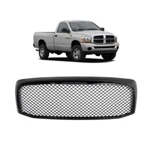 Car Front Grille Mesh Grille Fit For Dodge Ram 1500 2500 3500 2007 2008