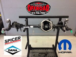 J8 Hd Rubicon D44 Front Axle W Ball Joints E Locker Diff Cover Choice Of Gear