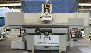 20 W 36 L Okamoto Acc20 36dx New 1992 Original Very Nice Surface Grinder
