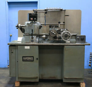 11 Swg Hardinge Hc Precision Engine Lathe Vari speed 5c colllet Closer turret