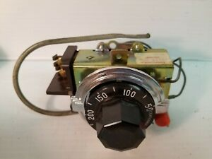 Commercial Electric Thermostat Robertshaw Se5120 001 Spst 50 300f 30a 120