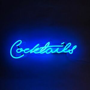 New Cocktails Neon Light Sign Lamp Beer Pub Acrylic 14
