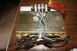 Parting Out Dupont Sorvall Rc 5b Centrifuge Transformer Wiring Harness