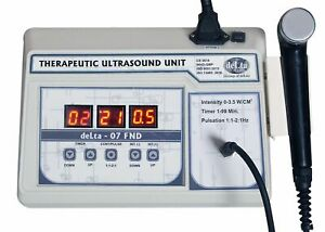 Ultrasound Physical Therapy Equipment Personal Use Pain Relief 1 Mhz Freq M c