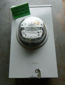 Milbank Series 9700l Enclosure With Ge Type I 70 s Single Stator Watthour Meter