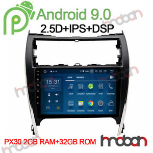 10 1 Dsp Ram Android 9 0 Car Stereo Head Unit For Toyota Camry 2012 2014 Radio