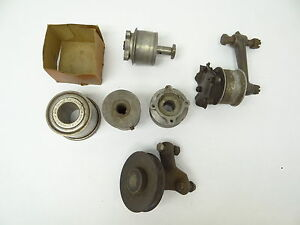 Vintage Used Metal New Departure 5856 Unbranded Pinion Engine Pulleys Car Parts