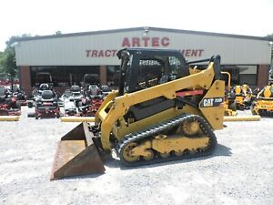 2015 Caterpillar 259d Skid Steer Loader Watch Video Only 1528 Hours