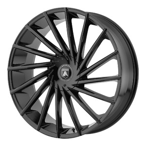 20x8 5 15 Asanti Black Abl 18 Gloss Black 6x135 6x139 7 Wheels Rims qty 4