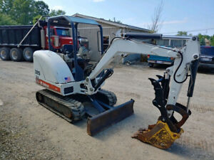 2005 Bobcat 325g Mini Excavator Hydraulic Thumb 1955 Hours