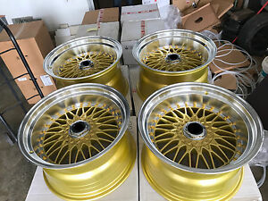 For 180sx Dc2 240sx Civic S30 240z E30 Jdm 17 Classic Mesh Style Wheels Rim