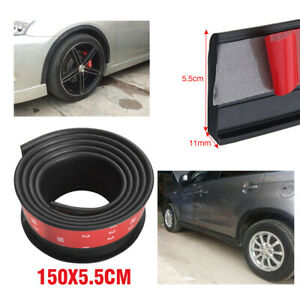 2pcs Universal Car Wheel Fender Extension Rubber Moulding Flare Trim Protector Fits 2004 Saturn Ion