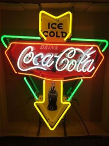 New Ice Cold Drink Coca Cola Poster Neon Light Sign 19