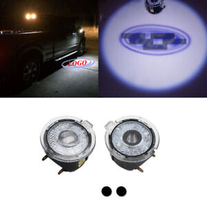2pc Ghost Shadow Led Side Mirror Puddle Laser Lights For 09 14 Ford F 150 Raptor