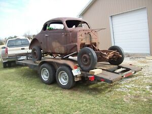 1937 1938 Chevy Coupe Straight Axle Gasser Street Rod Rat Rod Stock Car Nascar