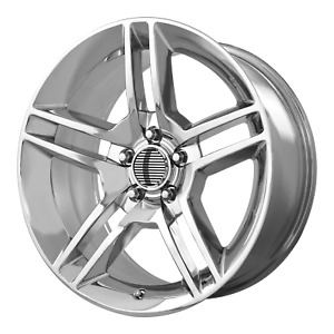 Ford Mustang Shelby Gt 500 Style Wheel 18x10 24 Chrome 5x114 3 5x4 5 Qty 2