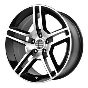 Ford Mustang Shelby Gt 500 Style Wheel 19x8 5 30 Black 5x114 3 5x4 5 Qty 4