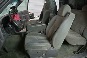 1999 2007 Chevrolet Silverado Truck Front Seats Oem 69d Gray Front Buckets Only